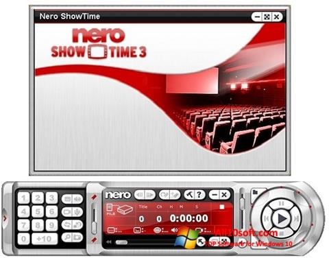 स्क्रीनशॉट Nero ShowTime Windows 10
