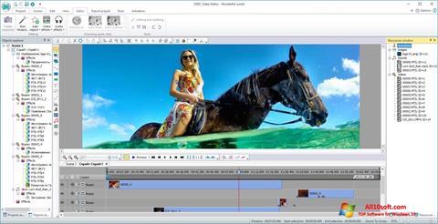 स्क्रीनशॉट VSDC Free Video Editor Windows 10
