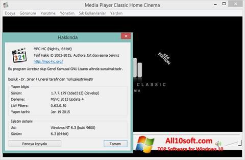 स्क्रीनशॉट K-Lite Codec Pack Windows 10