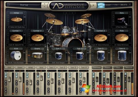 स्क्रीनशॉट Addictive Drums Windows 10