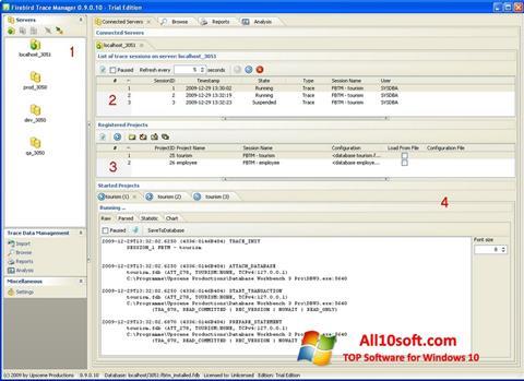 स्क्रीनशॉट Firebird Windows 10