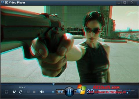 स्क्रीनशॉट 3D Video Player Windows 10