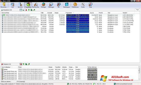 स्क्रीनशॉट eMule Windows 10