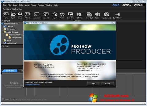 स्क्रीनशॉट ProShow Producer Windows 10