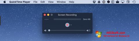 स्क्रीनशॉट QuickTime Windows 10