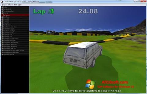 स्क्रीनशॉट 3D Rad Windows 10