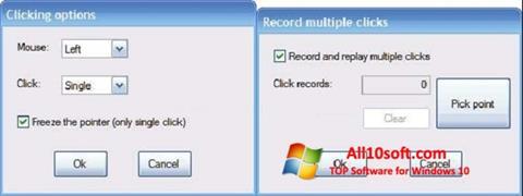 स्क्रीनशॉट GS Auto Clicker Windows 10