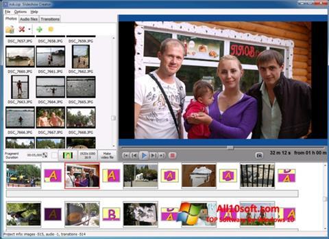 स्क्रीनशॉट Bolide Slideshow Creator Windows 10