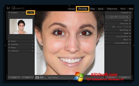 स्क्रीनशॉट Red Eye Remover Windows 10