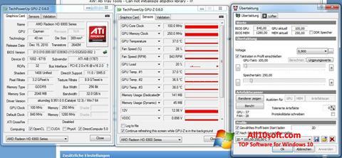 स्क्रीनशॉट ATI Tray Tools Windows 10