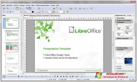 स्क्रीनशॉट LibreOffice Windows 10