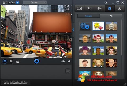 स्क्रीनशॉट CyberLink YouCam Windows 10