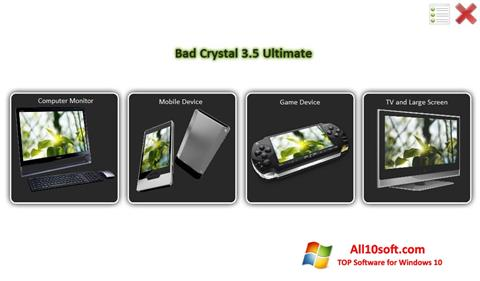 स्क्रीनशॉट Bad Crystal Windows 10
