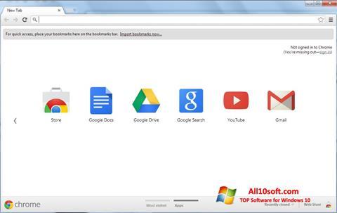स्क्रीनशॉट Google Chrome Windows 10