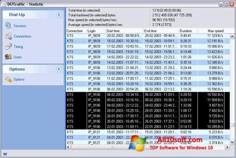 स्क्रीनशॉट DUTraffic Windows 10
