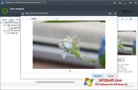 स्क्रीनशॉट USB Flash Drive Recovery Windows 10