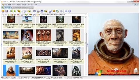 स्क्रीनशॉट XnView Windows 10