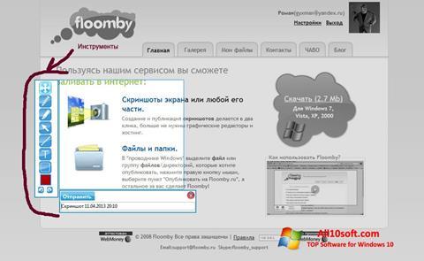 स्क्रीनशॉट Floomby Windows 10