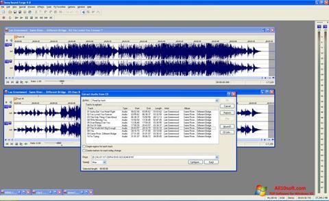स्क्रीनशॉट Sound Forge Windows 10