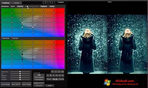 स्क्रीनशॉट 3D LUT Creator Windows 10