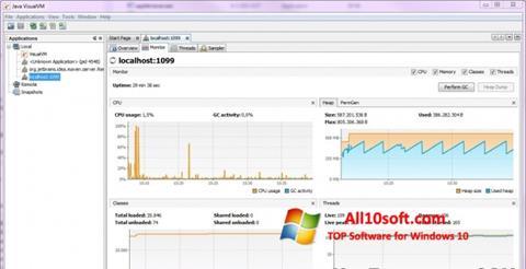 स्क्रीनशॉट Java Virtual Machine Windows 10