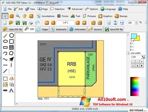 स्क्रीनशॉट PDF Reader Windows 10