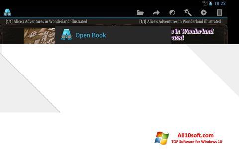 स्क्रीनशॉट AlReader Windows 10