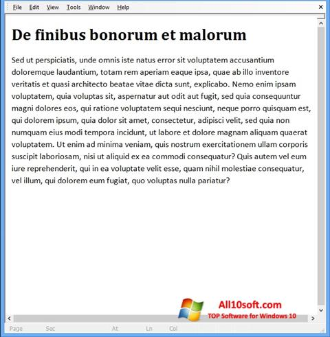 स्क्रीनशॉट Doc Viewer Windows 10