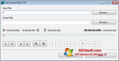 स्क्रीनशॉट Free Audio Dub Windows 10