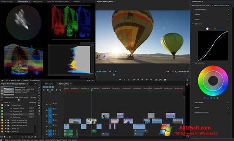 स्क्रीनशॉट Adobe Premiere Pro CC Windows 10
