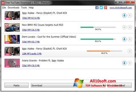स्क्रीनशॉट Free YouTube Download Windows 10
