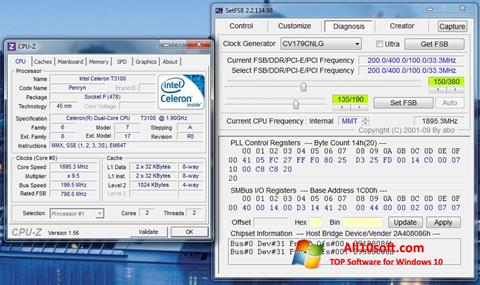 स्क्रीनशॉट SetFSB Windows 10