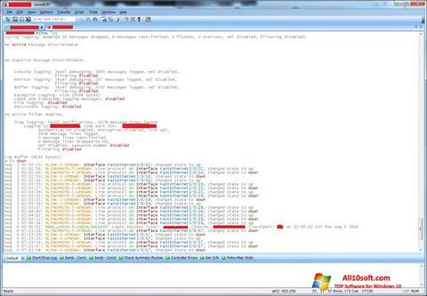 स्क्रीनशॉट SecureCRT Windows 10