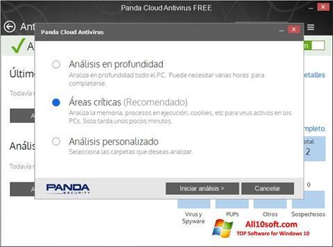स्क्रीनशॉट Panda Cloud Windows 10