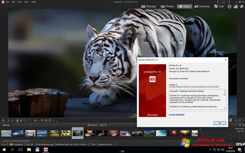 स्क्रीनशॉट ACDSee Pro Windows 10
