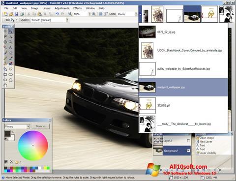 स्क्रीनशॉट Paint.NET Windows 10