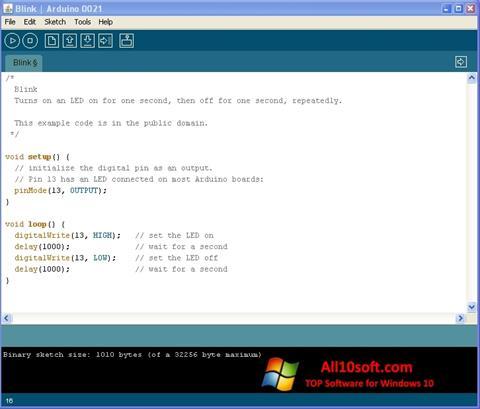 स्क्रीनशॉट Arduino Windows 10